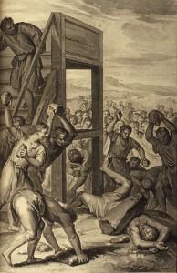 Hoet - Le blasphémateur lapidé