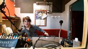 MC Ripley dans les studios de Canut