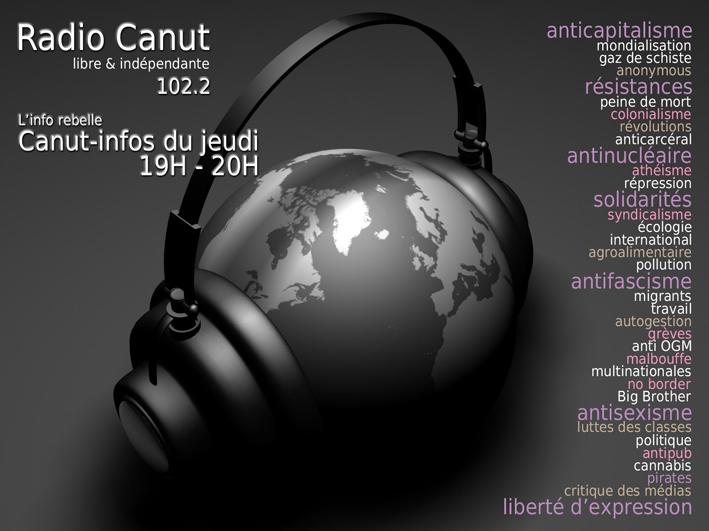 Canut infos jeudi 19H Radio Canut petit