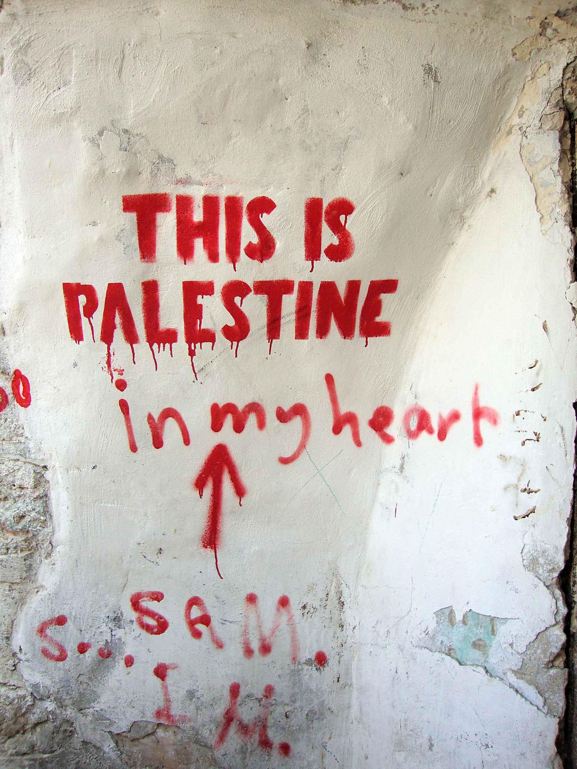 rencontre palestine