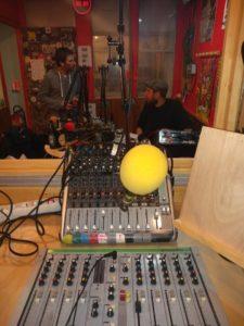 studio radio canut, dance maniac, concrete collage