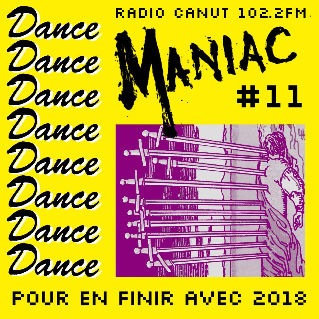 dance maniac, commando koko, 2018, radio canut, indus, ebm, 10 d'épée, tarot