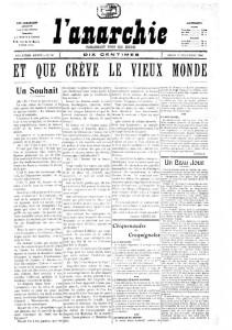 L'Anarchie 1906