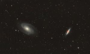 Galaxie de Bode et du cigare [M81 et M82] (Jean-Marc)