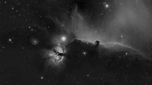 Nébuleuse de la tête de Cheval [IC434][Caméra monochrome et Filtre H-alpha] (jean-Marc)