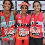 Kiran Gandhi, marathonienne, refusant d'utiliser des protections hygiéniques, en soutien aux 78% de femmes indiennes qui n'auraient pas accès à cette forme d'hygiène intime.