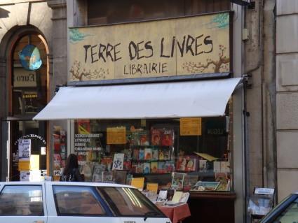 Librairie Terre des Livres, Rue de Marseille