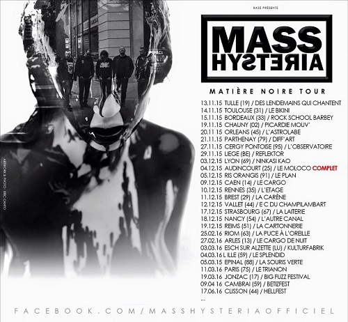 mass hysteria flyer mini